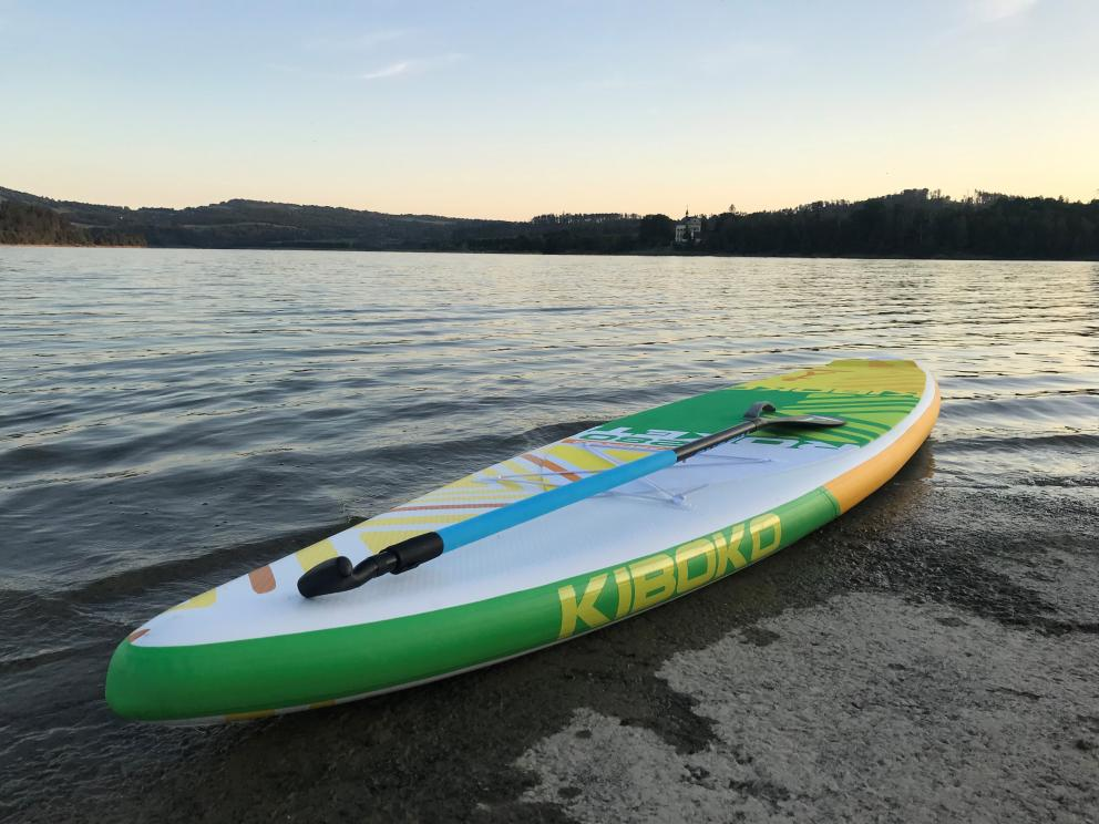 Paddleboardy ve wellness centru